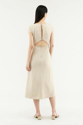 Kaelea Cap-sleeve Dress