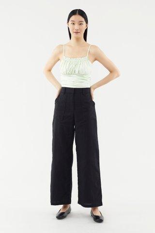 Eugena Wide-leg Pants