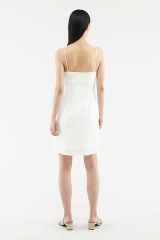 Jamisha Ruched Mini Dress