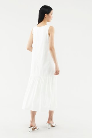 Norvell Wave-hem Dress