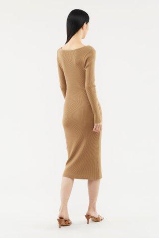 Erlynna Long-sleeve Knit Dress