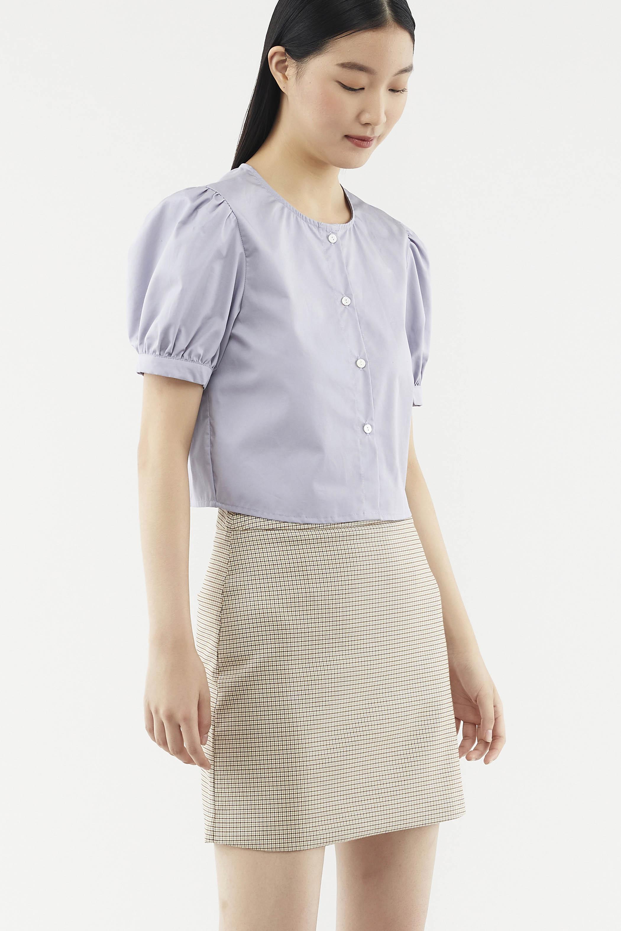 Karyna Puff-sleeve Blouse