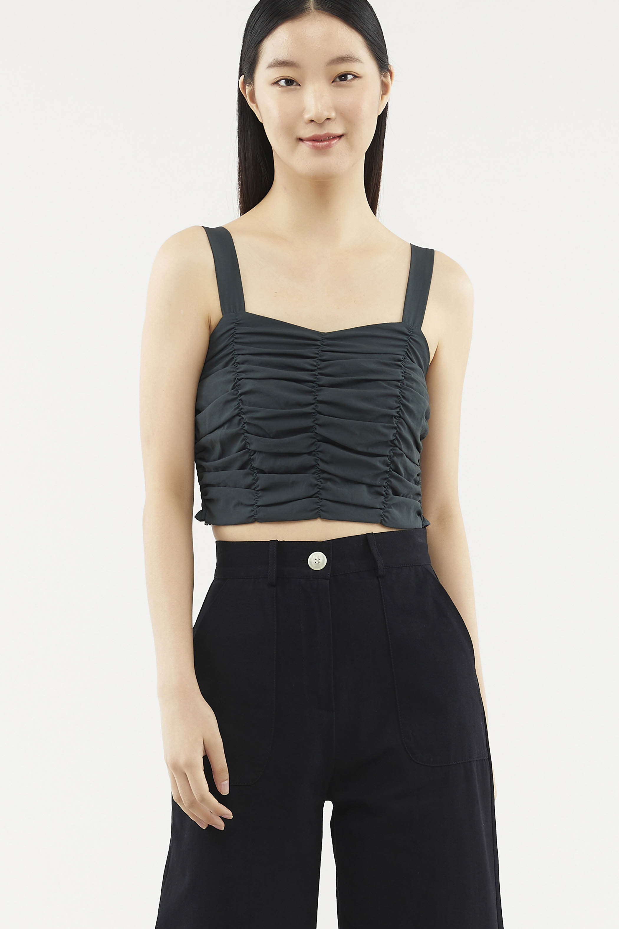 Lesha Ruched Top