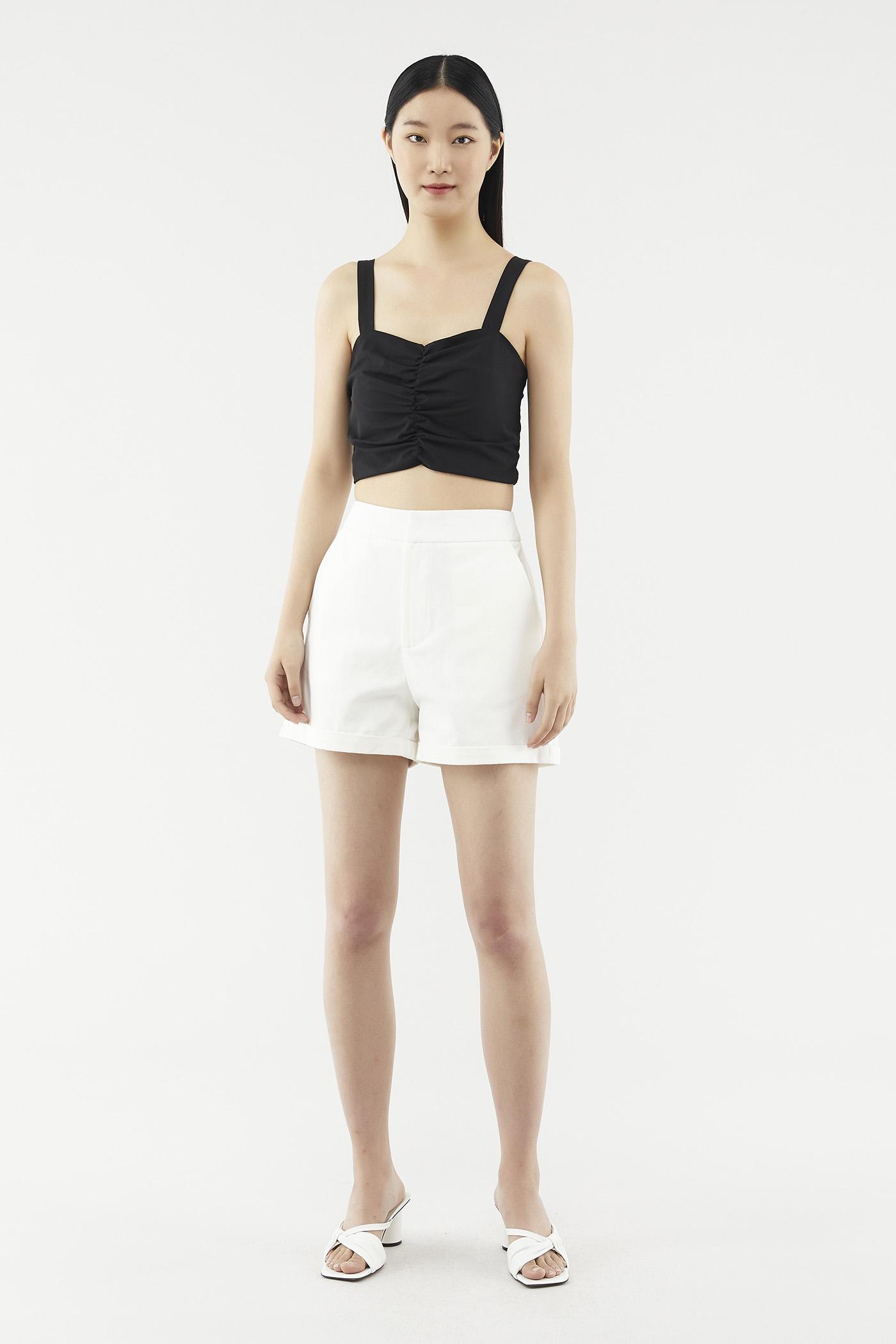 Aiden Cuff-hem Shorts