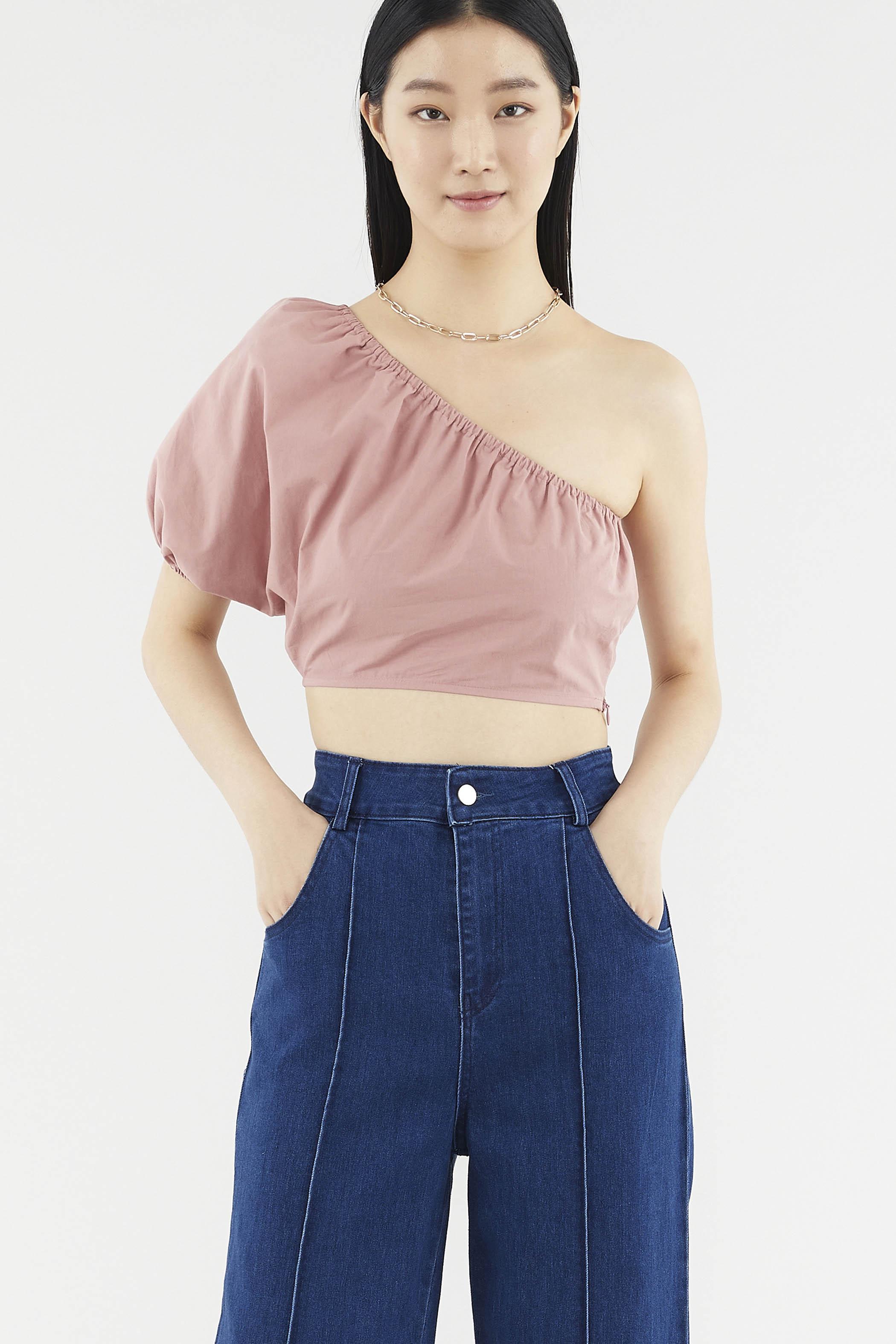 Elaine One-shoulder Top