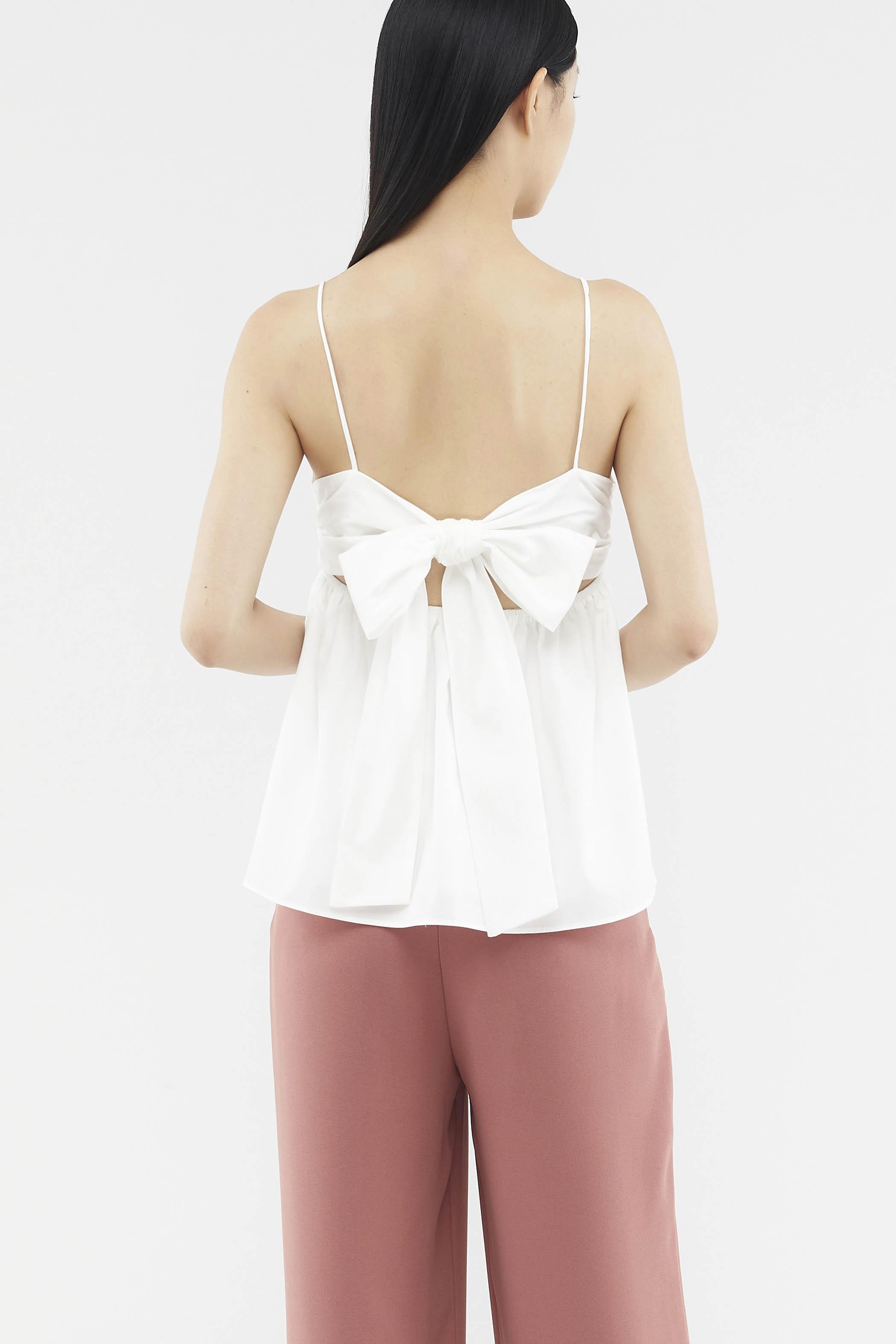 Latrice Back-tie Top