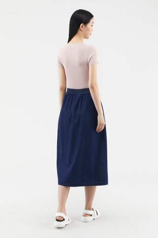 Rubby Button-through Skirt