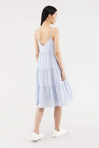 Raylene Tiered Midi Dress