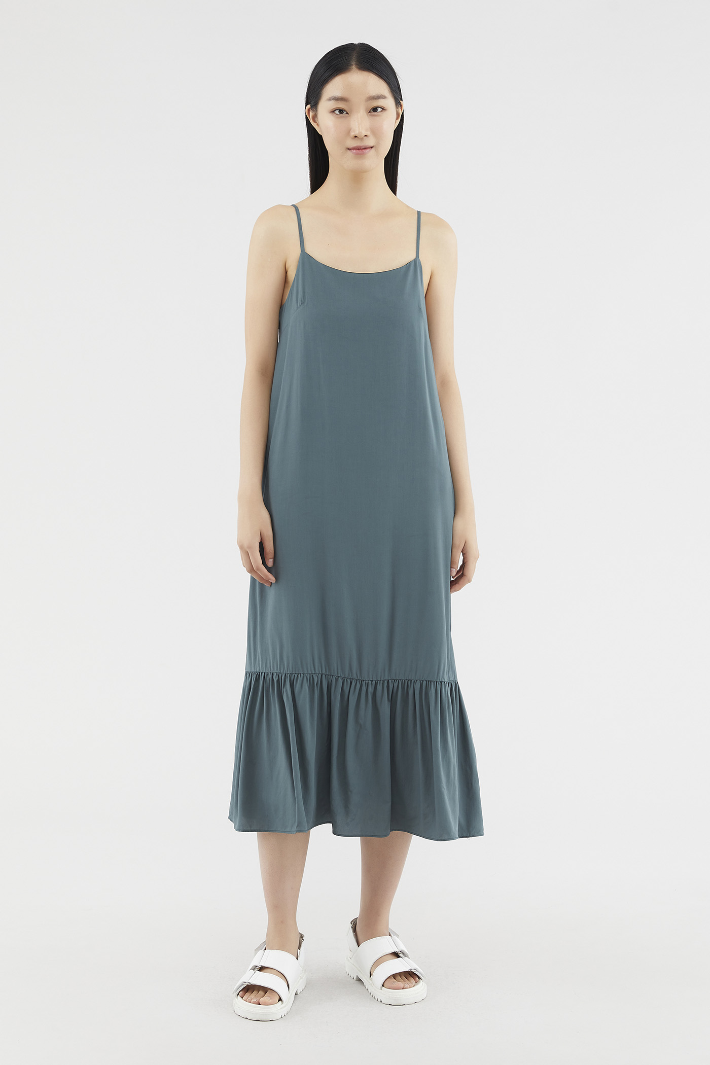 Zander Frill-hem Dress