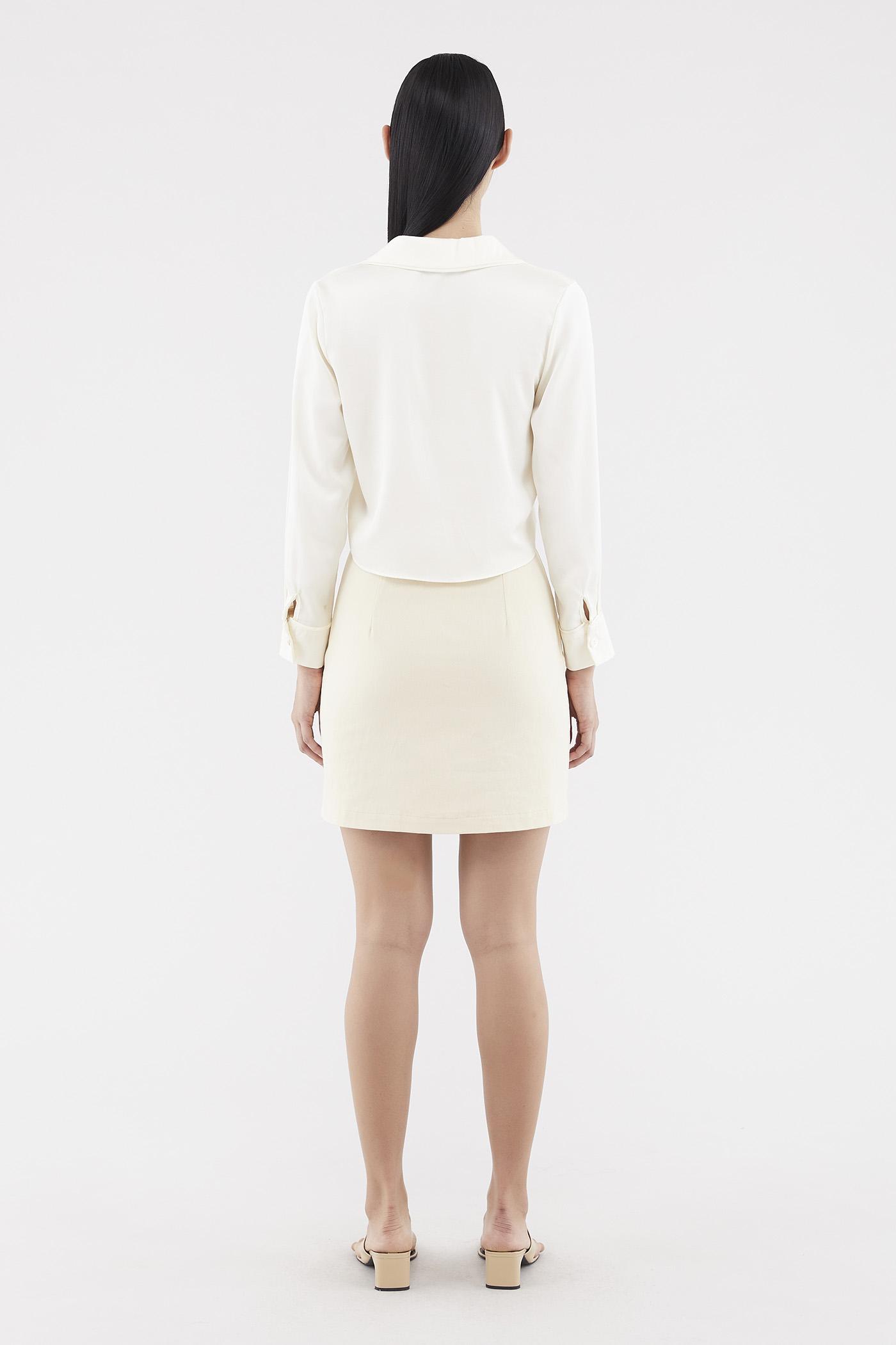 Rozelyn Button-through Skirt