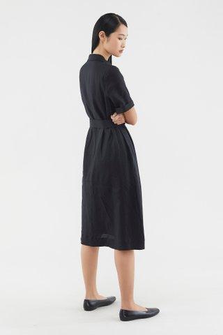 Gracelyn Linen Shirtdress