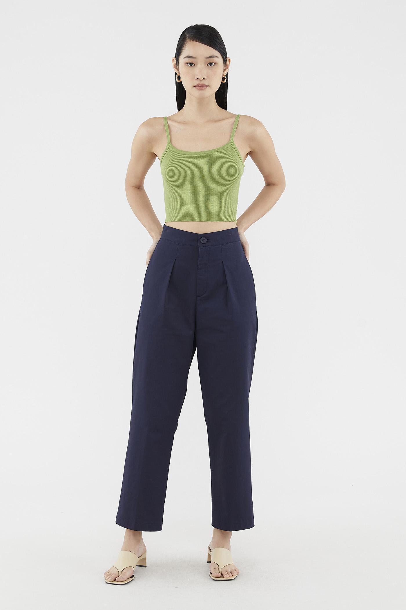 Marion Straight-leg Pants