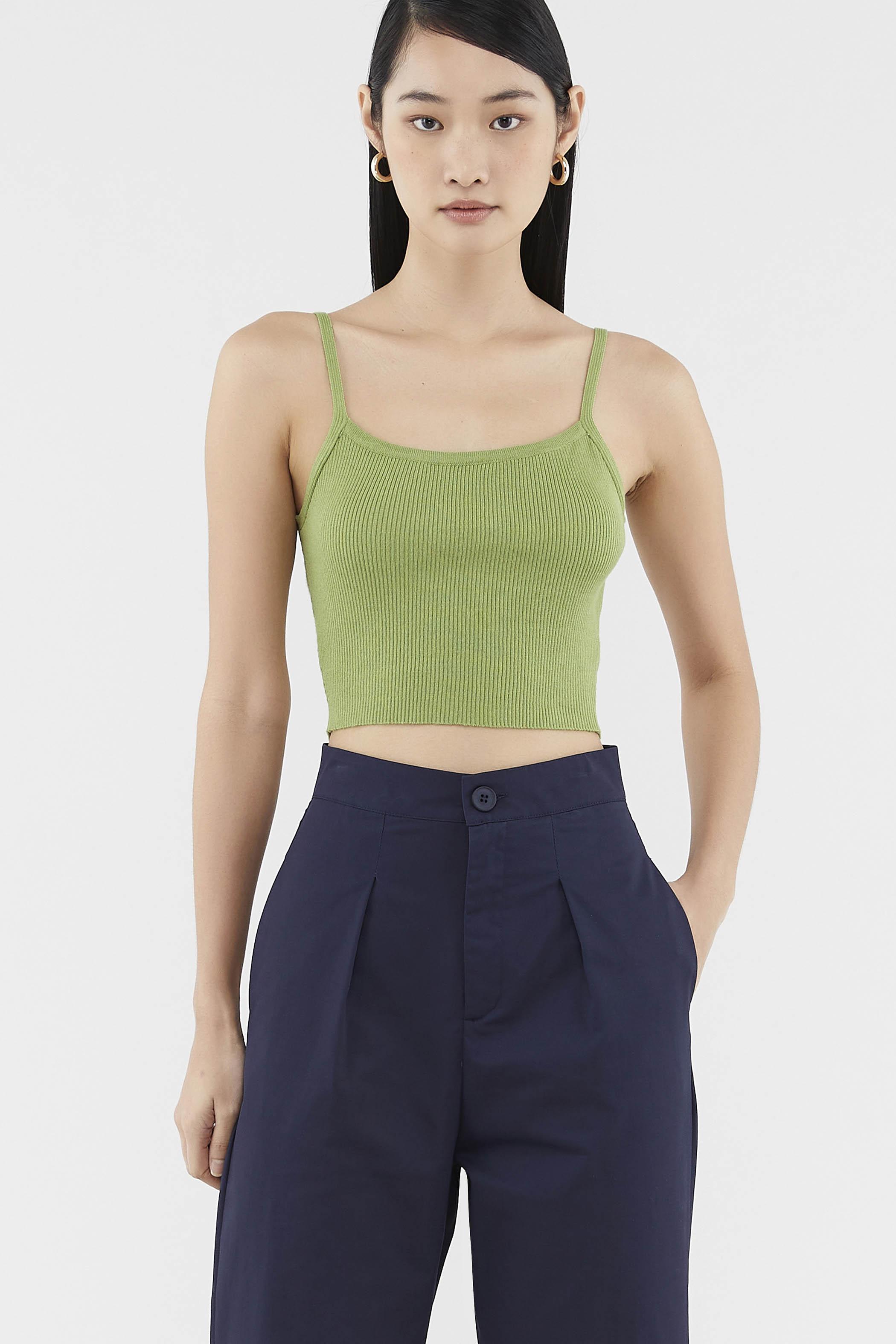Cadara Knit Crop Top