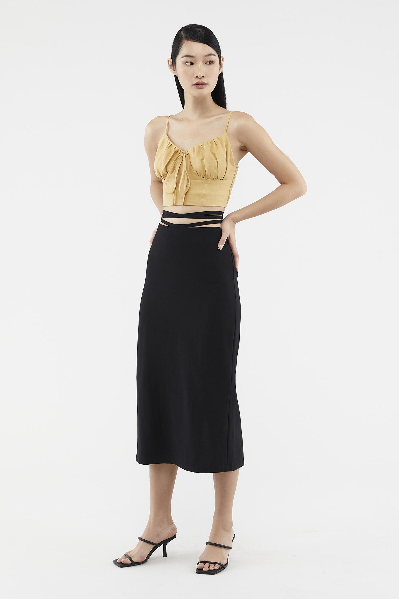Philia Strap-tie Skirt