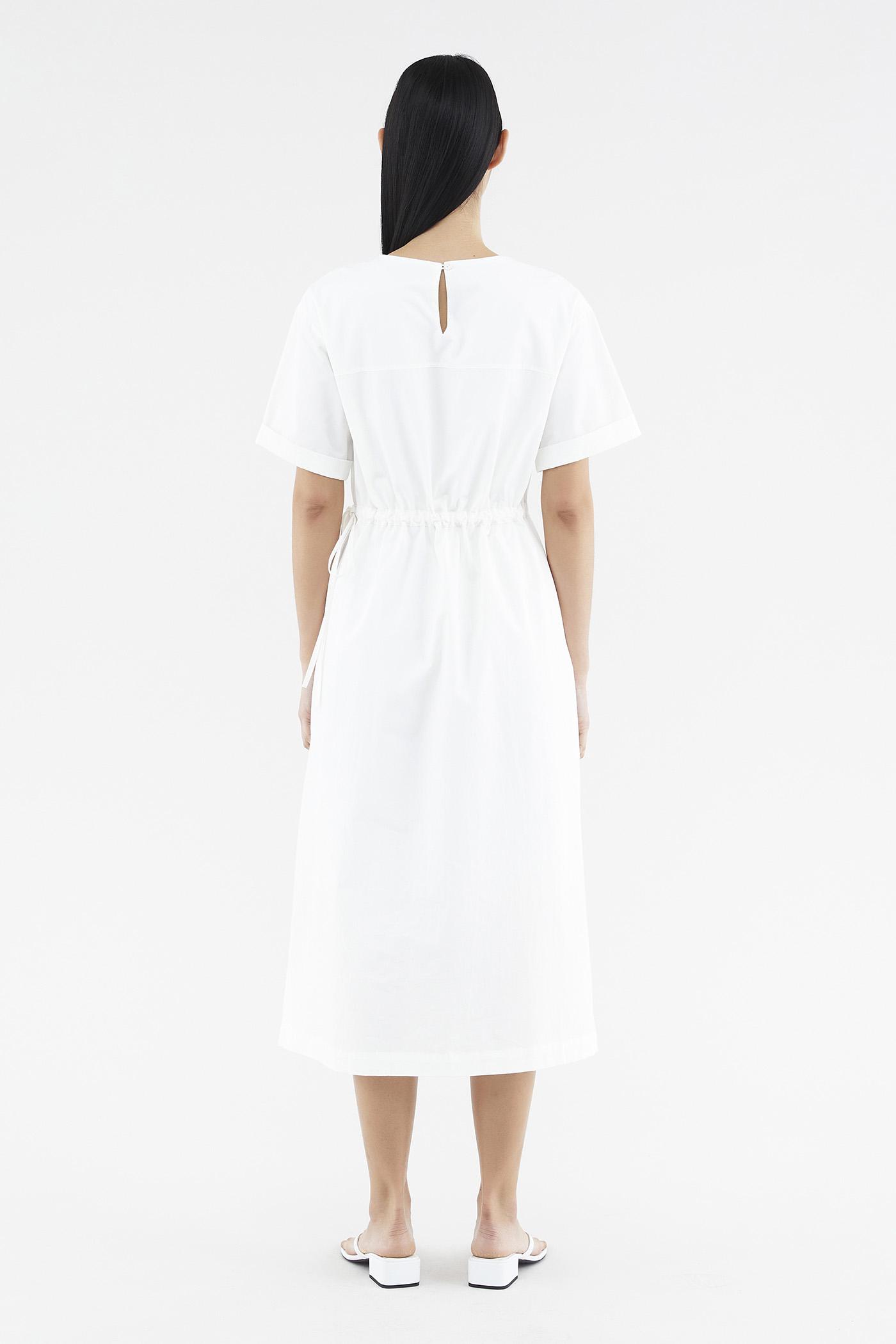 Wendie Drawstring Dress