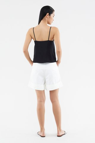 Ricka Cuff-hem Shorts
