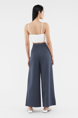 Allyna Ruched Crop Top