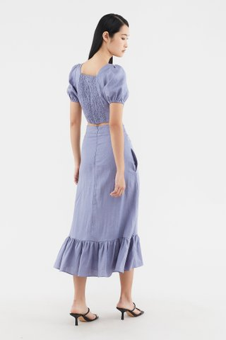 Peppy Frill-hem Skirt