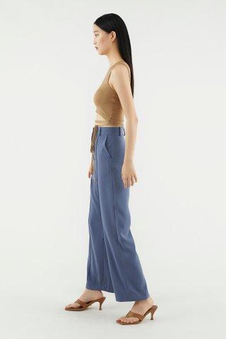 Lidie Strap-tie Knit Top