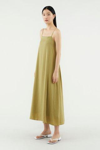 Shanelle Back-pleat Dress