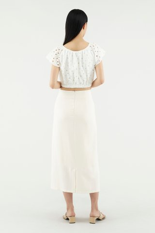 Hatty Broderie Blouse