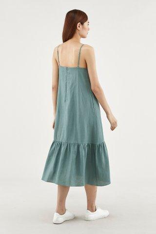 Sallyann Frill-hem Dress