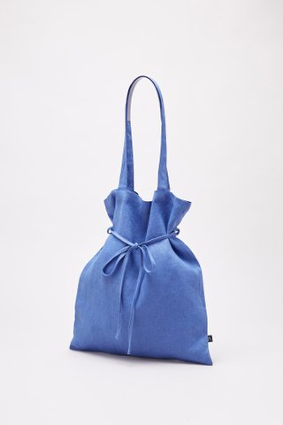 The Linen Belted Tote
