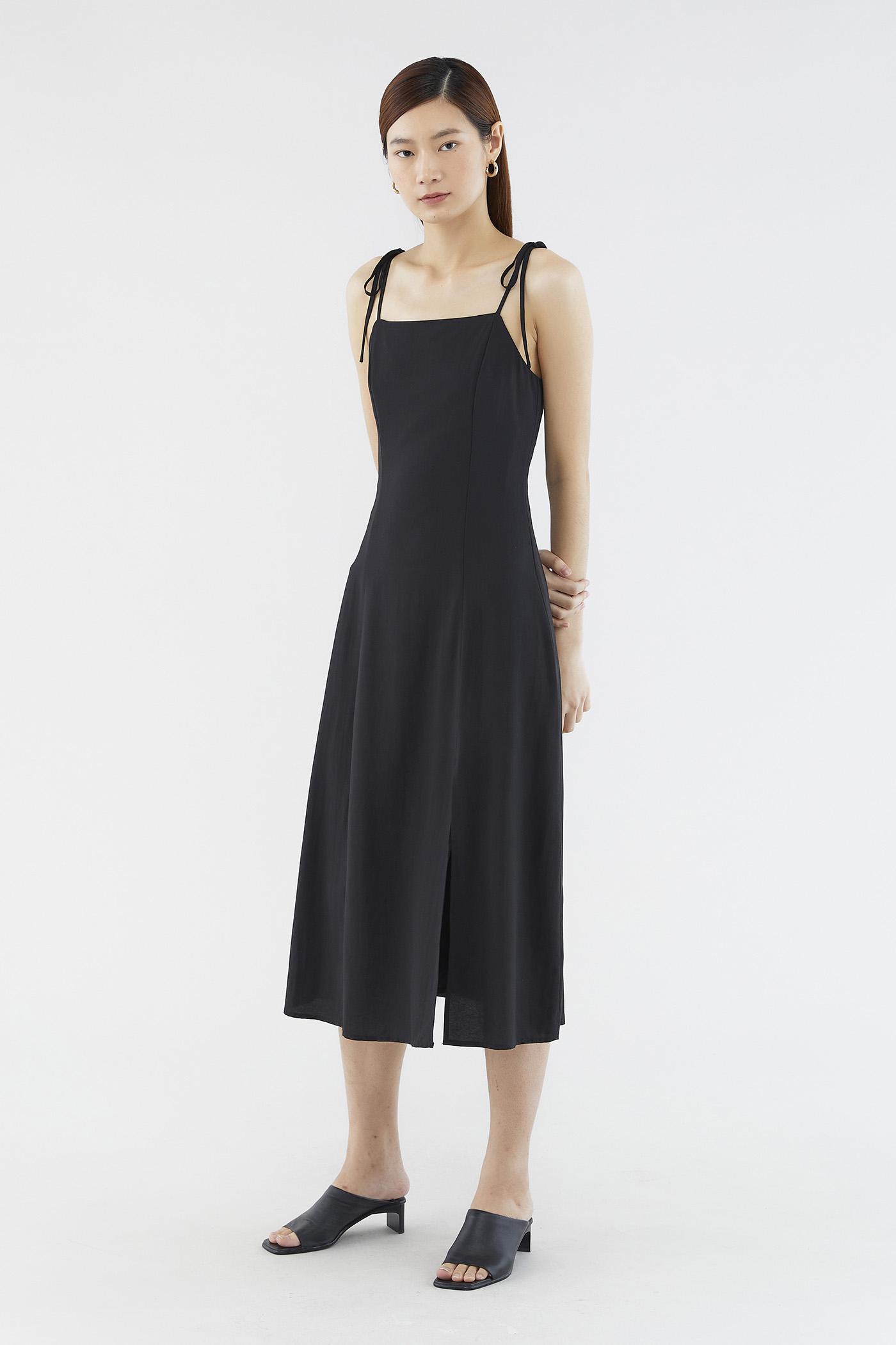 Claralyn Side-slit Dress