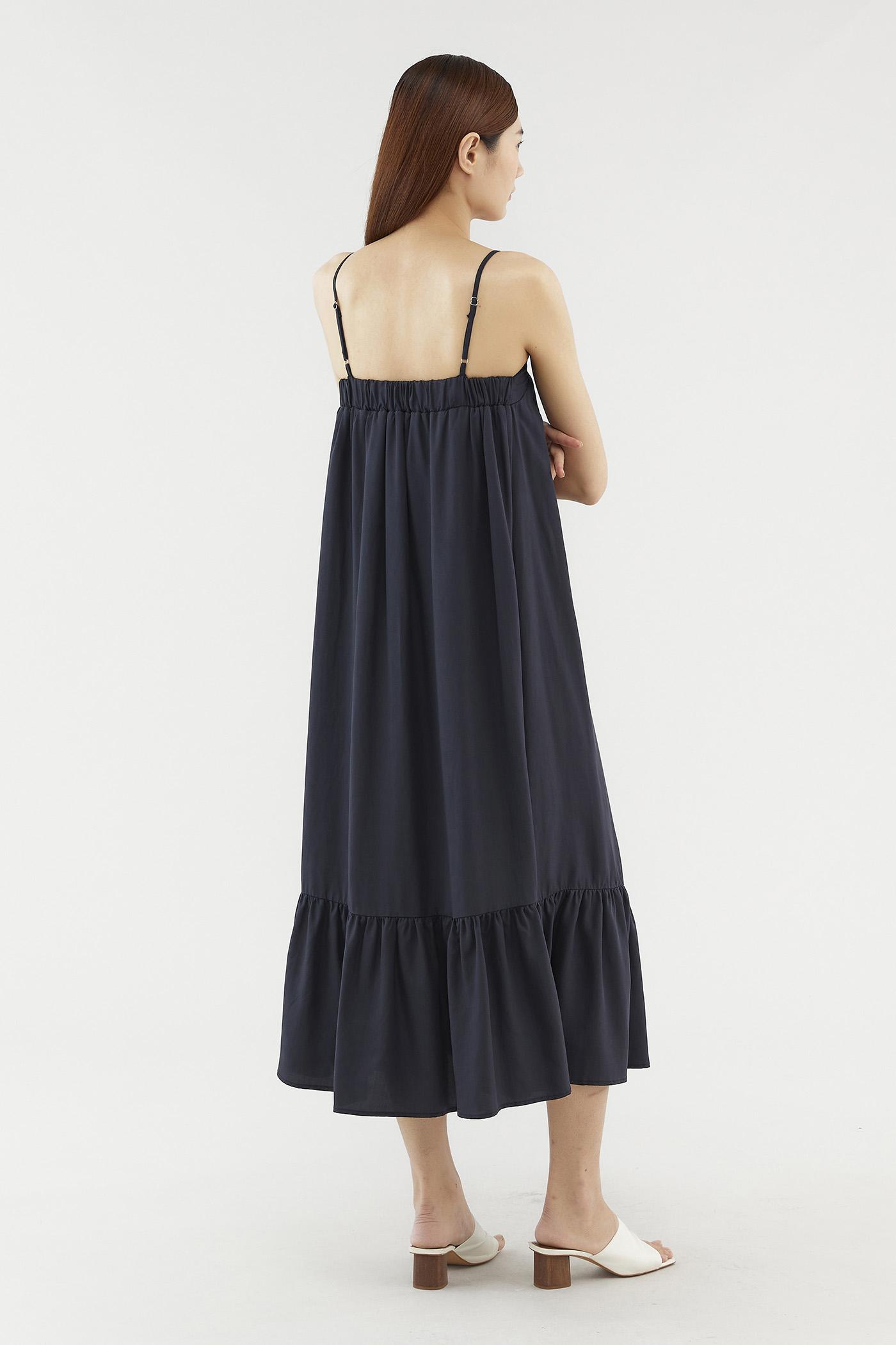 Chelcie Frill-hem Dress