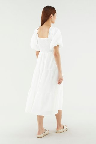 Brissa Puff-sleeve Dress