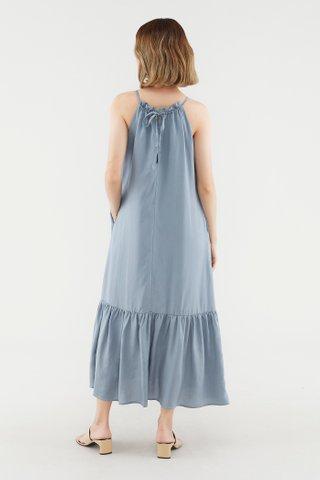 Polley Drop-Hem Dress