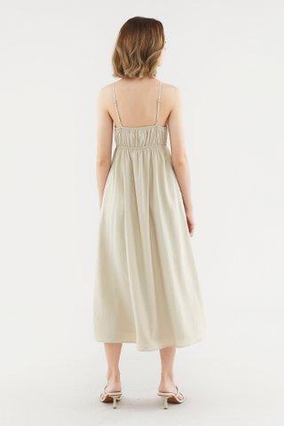 Glynice Wrap-Front Dress