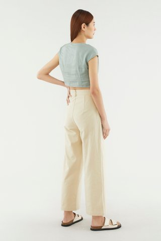 Rozina Front-knot Top