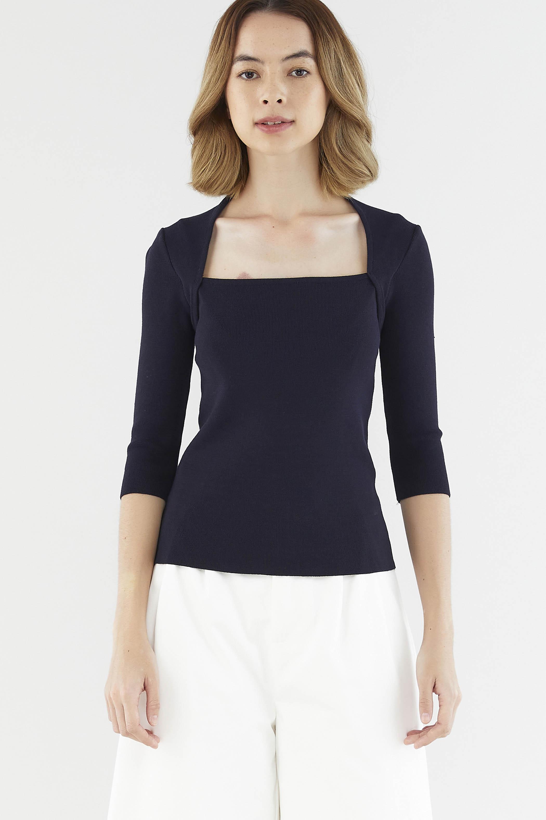 Sheilia Wide-neck Top